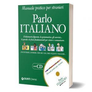 کتاب مکالمه ایتالیایی Parlo italiano (تمام رنگی) به همراه CD صوتی
